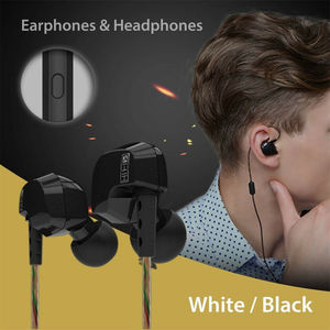KZ HD9 Earphones HiFi Sport Earbuds Copper Earhook ear Headphones In Ear Earphone For Running With Microphone game Headset