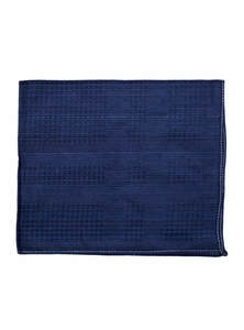 Regal Blue Cotton Handkerchief