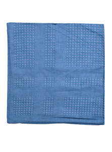 San Marino Blue Cotton Handkerchief