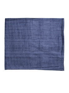 East Bay Blue Cotton Handkerchief
