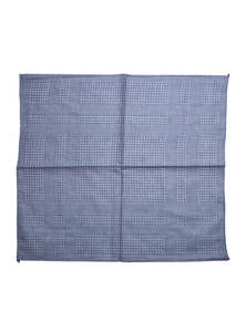 Rock Blue Cotton Handkerchief