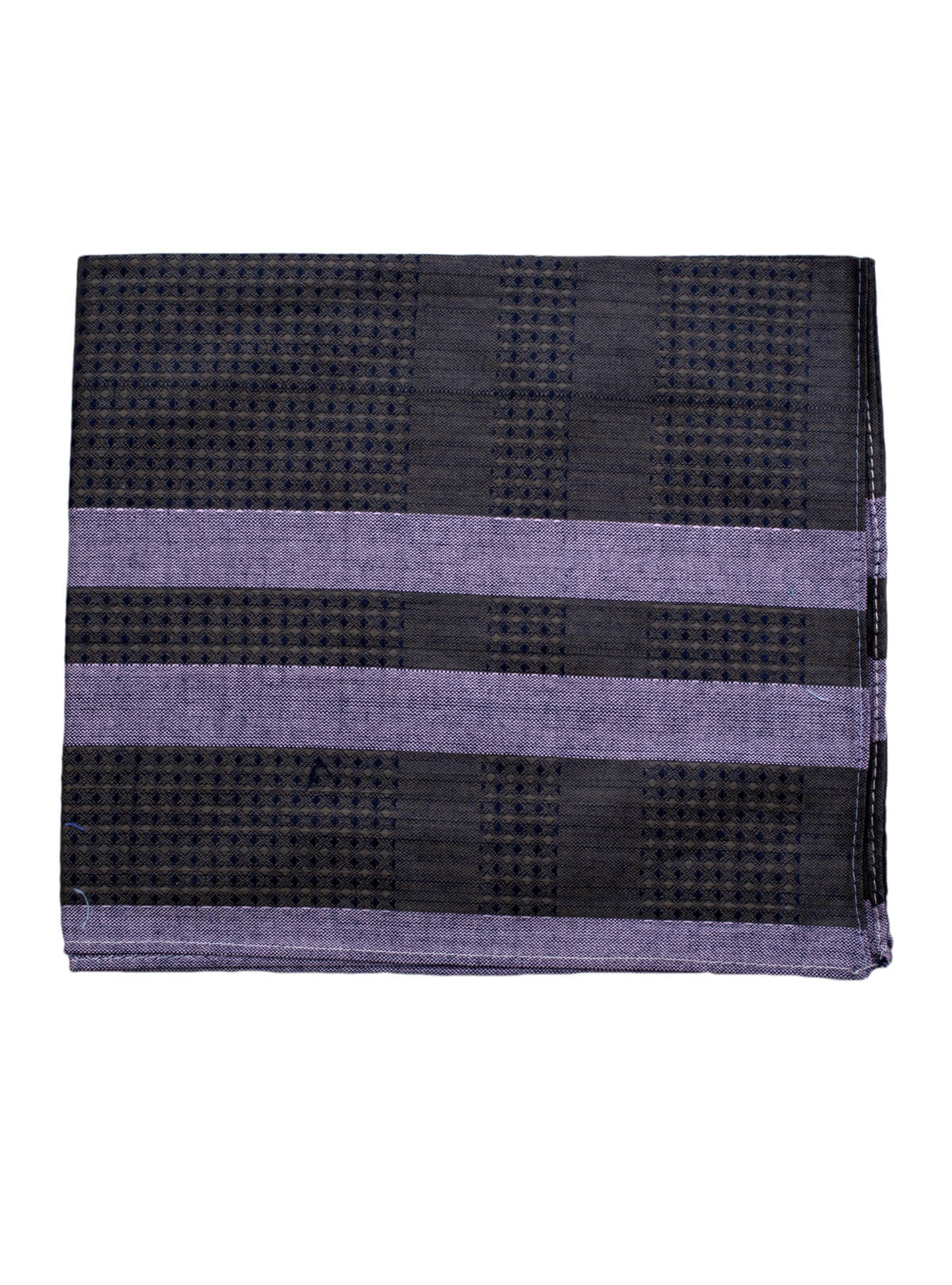 Black Cotton Handkerchief