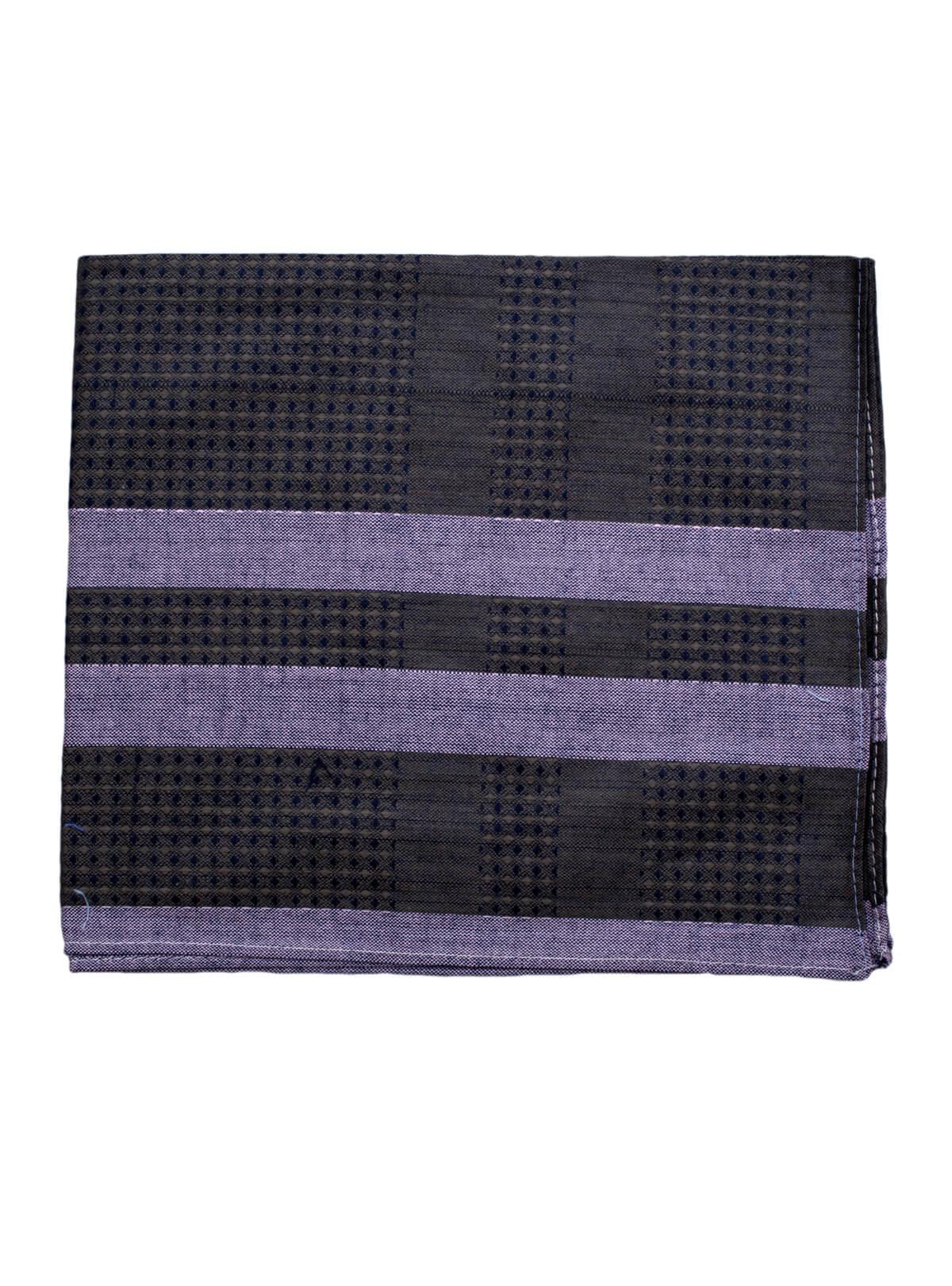 Black Cotton Handkerchief