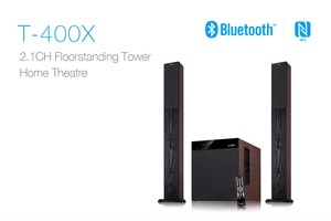 F&D T400X Bluetooth 2:1 Tower Speaker