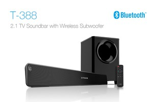 F&D T388 Bluetooth 2:1 Soundbar Speaker(with optical port)