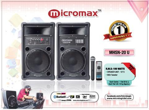 Micromax MX-20U BTM
