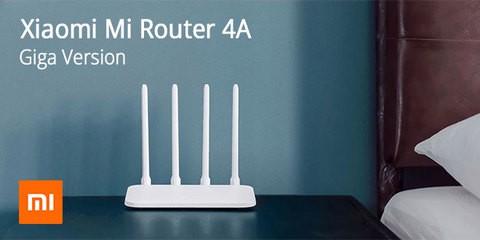 Xiaomi Mi Router 4A (Dual Band, Global Version, Gigabit Edition)