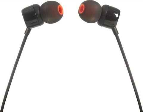 JBL T110 In-Ear Headphones with Mic (White)black )