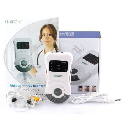HailiCare cr-912 Allergy Reliever Massage Laser Rhinitis Therapy Treatment Simulator For Clogged Nose Nasal Itching Sneezing