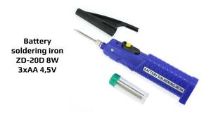 Professional Portable Battery Powered Soldering Iron
