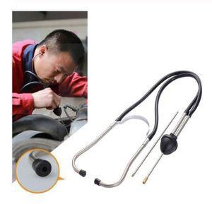 Mechanics Cylinder Stethoscope Car Engine Block Diagnostic Automotive Hearing Tools Anti-Shocked Durable Chromed