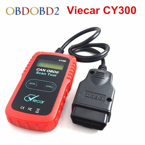 ELM327 OBD2 Scanner VC300 OBD2 Diagnostic Interface Tool Support SAE J1850 Protocol