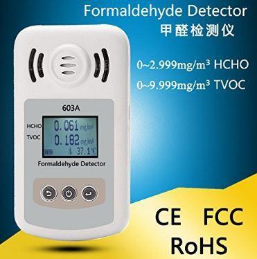 Formaldehyde detector gas analyzer VTOC alarm HCHO gas detector