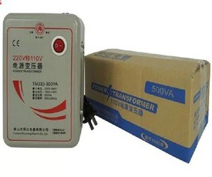 AC 220 V to 110 V 500 W Step-up Voltage converter transformer