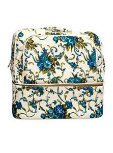 Multi-Color Jute Printed Travel Bag