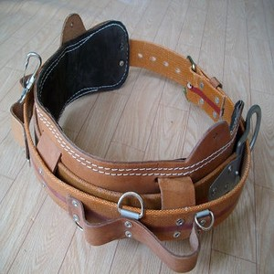 Safety Belt Leather