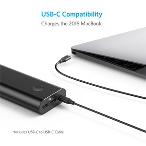 Anker Powercore+ 20100mAh USB-c with poweriQ (Black)