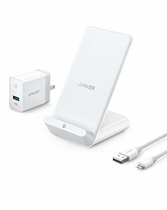 ANKER PowerWave 7.5W Wireless Stand (White)
