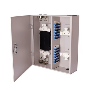 Wall Mount ODF 24-Port With SC Coupler