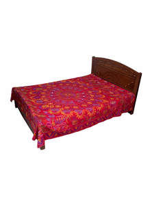 Red Cotton Nakshi Kantha