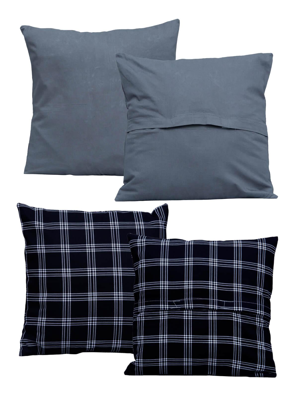 Fine Cotton Cushion Cover (5 Piece Set)