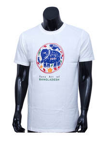 Blue Art of Bangladesh T-Shirt
