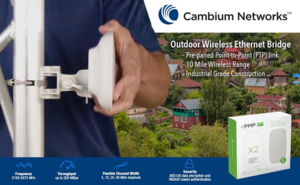 Cambium ePMP Force 180 5GHz Integrated Radio