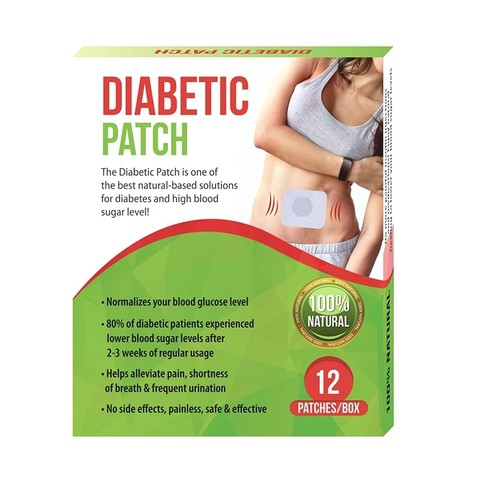 Diabetic Patch-Natural Herbs-Stabilizes for Lowering Blood Sugar Balance Glucose Content.
