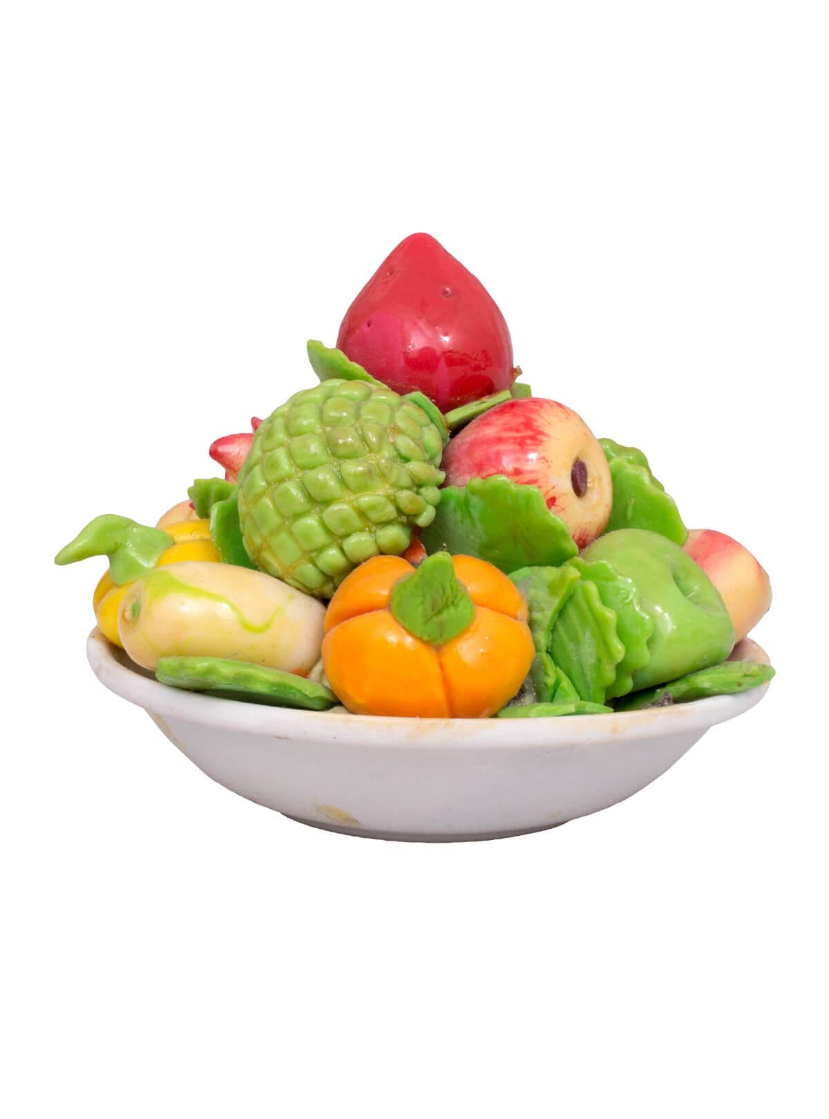 Multi-color Ceramic Fruit Plate