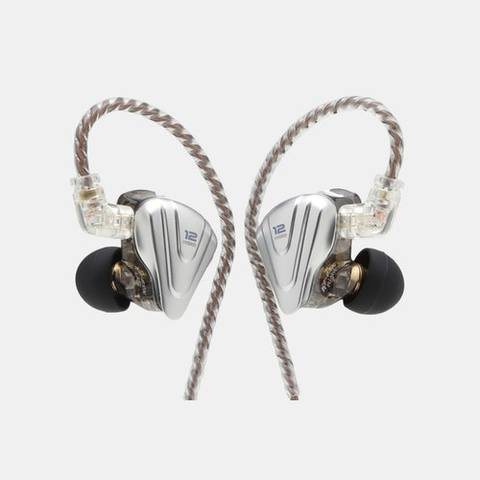 KZ ZSX 5BA+1DD Hybrid In Ear Earphone IEM 6 Driver