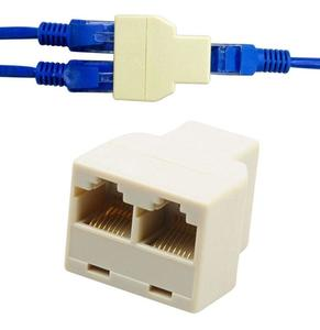 RJ45 2 Ports Network Modular Converters Jointers
