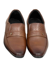 Chocolate Leather Gents Shoes