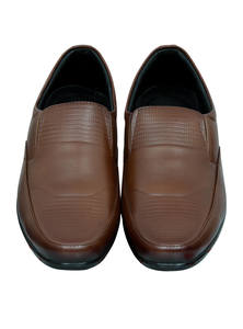 Spice Brown Leather Gents Shoes