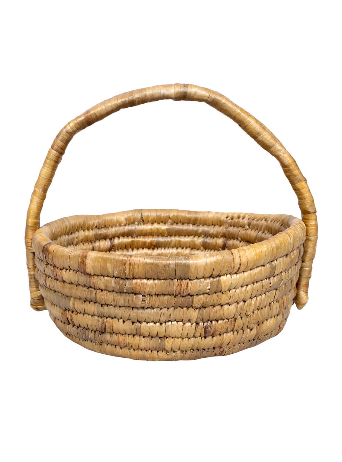 Water Hyacinth Fruit & Flower Basket