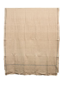 Mongoose Brown Hand Loomed Gent's Shawl