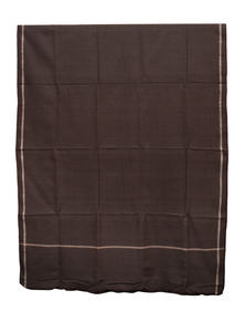 Rebel Brown Hand Loomed Gent's Shawl