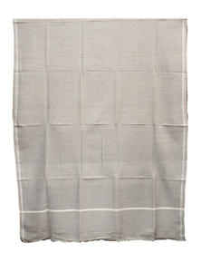 Cloudy Brown Hand Loomed Gent's Shawl