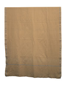 Pale Brown Hand Loomed Gent's Shawl