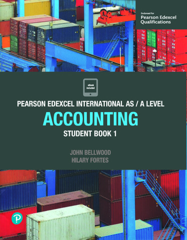 Pearson Edexcel IAL Accounting Student Book 1