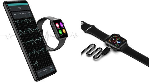 Microwear W34 Bluetooth Smartwatch Heart Rate Monitor