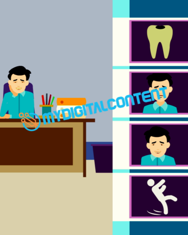 Dentist Tooth Ache 2D Animated Explainer Video