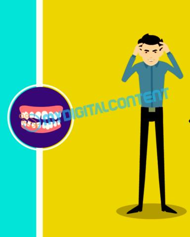 Dentist Orthodontics 2D Animated Explainer Video