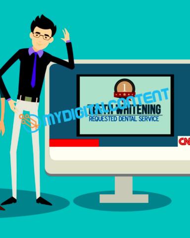 Dentist Teeth Whitening 2D Animated Explainer Video