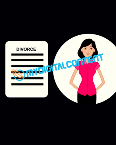 Attorney Divorce 2D Animated Explainer Video