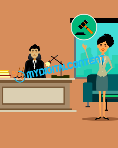 Attorney Personal Injury 2D Animated Explainer Video