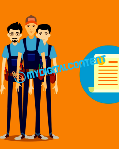 Home Contractor Replacement Windows 2D Animated Explainer Video