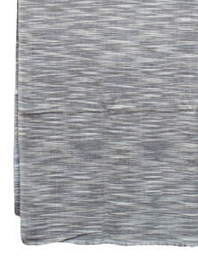 Hand Loomed Multicolor Striped Men Shawl Made By Recycled Fabric