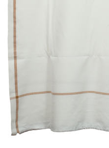 Hand Loomed Men Shawl With Exclusive Four Side Border Pattern Made By Recycled Fabric