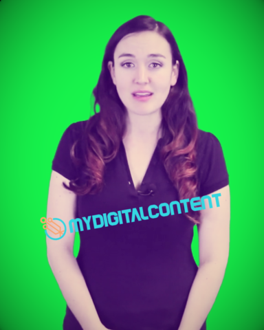 Day Care Spokesperson GreenScreen Video - US Female