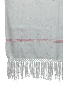Hand Loomed Ladies Shawl Made By Recycled Fabric